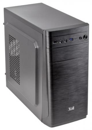 3Cott 3C-MATX-R838, Black, mATX, блок питания 500 Вт, выходы USB 3.0x1 + USB 2.0x1, HD Audio, материал шасси класса A, SPCC толщиной 0.5mm 3cott 500 evo2