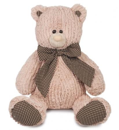 купить Мягкая игрушка Мишка Дэнни MAXITOYS MT-MRT101719-32 32 см коричневый искусственный мех трикотаж онлайн