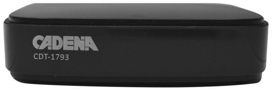 цена на Ресивер DVB-T2 Cadena CDT-1793 черный