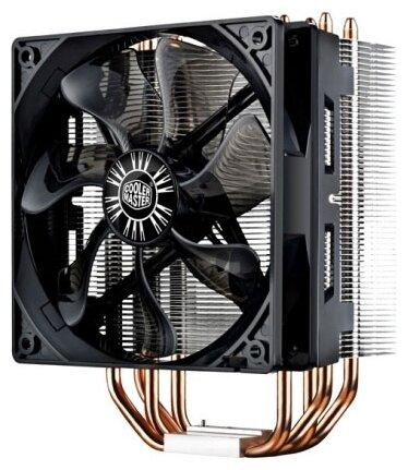 Cooler Master CPU Cooler Hyper 212 Black Edition, 650 - 2000 RPM, 180W, Full Socket Support цена и фото