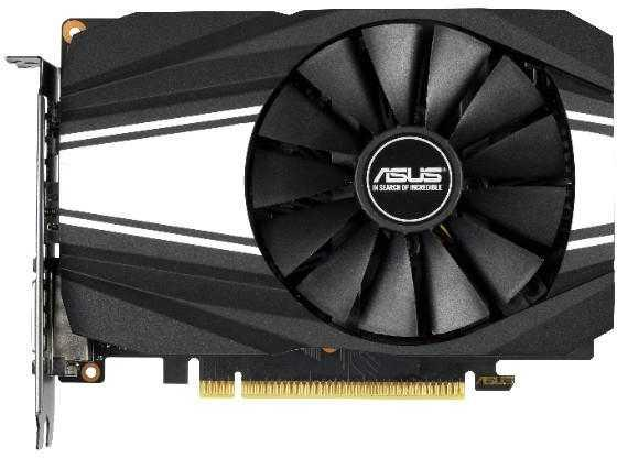 Видеокарта ASUS GeForce GTX 1660 Ti Phoenix OC edition PCI-E 6144Mb GDDR6 192 Bit Retail цена и фото