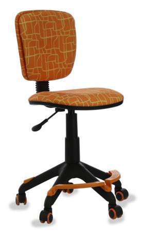 Фото - Кресло детское Бюрократ CH-204-F/GIRAFFE подставка для ног оранжевый жираф подставка