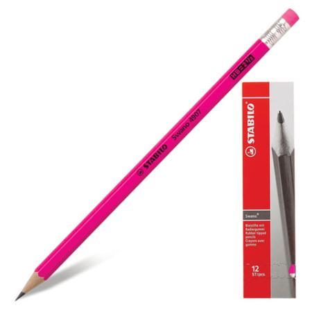 Карандаш графитовый Stabilo 181102 Swano 175 мм карандаш графитовый stabilo 181095 othello 188 мм