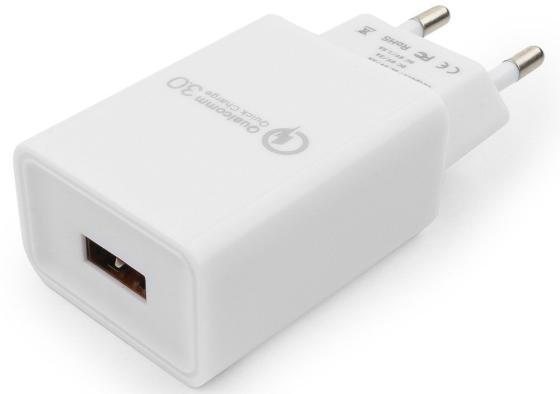 Сетевое зарядное устройство Cablexpert MP3A-PC-16 3 А белый зарядное устройство cablexpert mp3a pc 09 белый