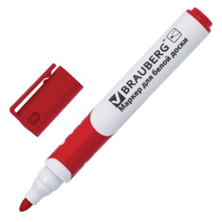 Маркер для доски BRAUBERG 151250 5 мм красный