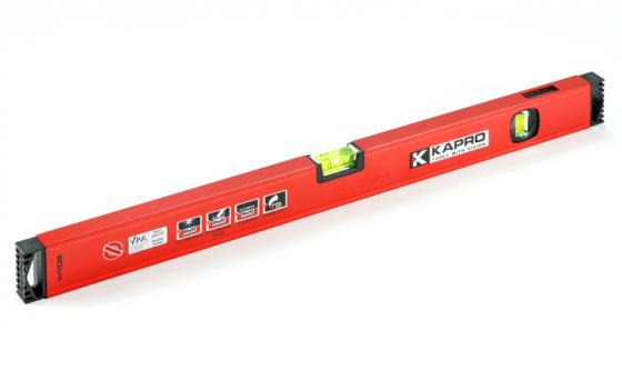 Уровень KAPRO 781-40-200РМ 2000мм 0.5мм/м 2 глазка магнит цена