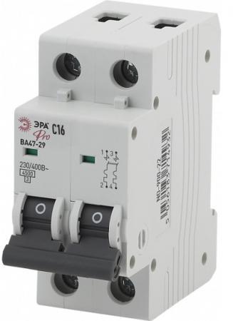 Автомат ЭРА Pro NO-900-28 ва47-29 2p 16а кривая c (6/90/1620)