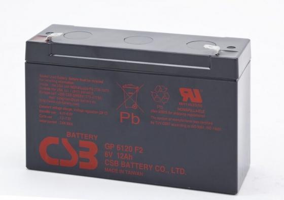 Фото - Аккумулятор CSB BACSB6120 6В 12Ач аккумулятор