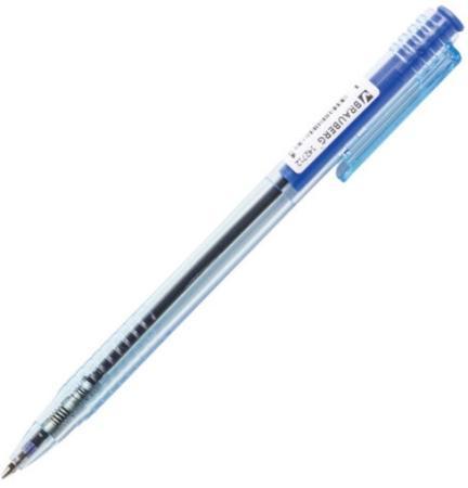 Ручка шариковая масляная автоматическая BRAUBERG Click Blue 142712 синий 0.7 мм автокресло nania sena easyfix 15 36кг bonjour blue синий 949163