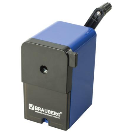 Точилка BRAUBERG RoboBlue 222515 пластик синий
