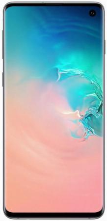 Смартфон Samsung Galaxy S10 перламутровый 6.1 128 Гб NFC LTE Wi-Fi GPS 3G Bluetooth SM-G973FZWDSER смартфон samsung galaxy s10 128 гб черный оникс sm g973fzkdser