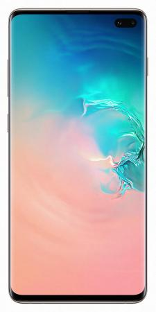Смартфон Samsung Galaxy S10+ белая керамика 6.4 1000 Гб NFC LTE Wi-Fi GPS 3G Bluetooth SM-G975FCWHSER