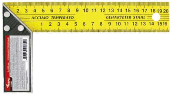 Угольник Курс 19381 20 см нержавеющая сталь столярный угольник курс 19384 столярный 350мм