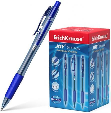 Ручка шариковая масляная автоматическая ERICH KRAUSE Ultra Glide Joy, узел 0,7 мм, линия 0,35 мм, синяя, 43346 ручка шариковая масляная автоматическая erich krause ultra glide joy узел 0 7 мм линия 0 35 мм