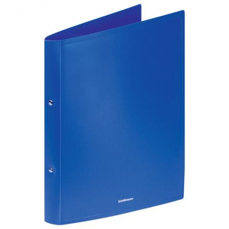 """Папка на 2 кольцах ERICH KRAUSE """"Classic"""", 35 мм, до 250 листов, 500 мкм, синяя,43016 227699"""