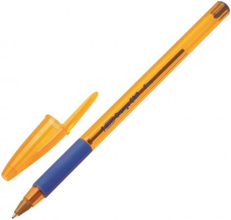 Шариковая ручка шариковая BIC Orange Grip синий 0.3 мм bic ручка шариковая atlantis exact синяя