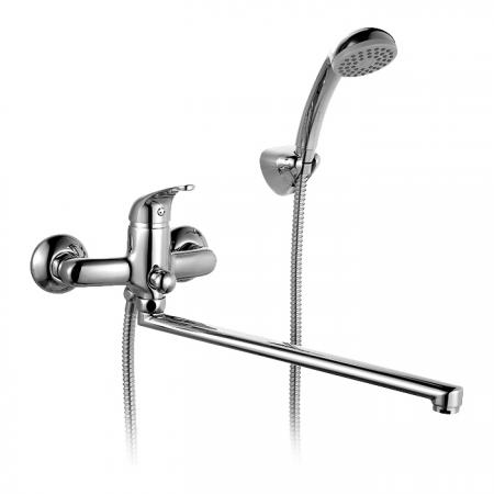 Смеситель MILARDO DA23A99CK MI для ванны Davis комплектный дл.излив смеситель для душа milardo davis da1sbnam03