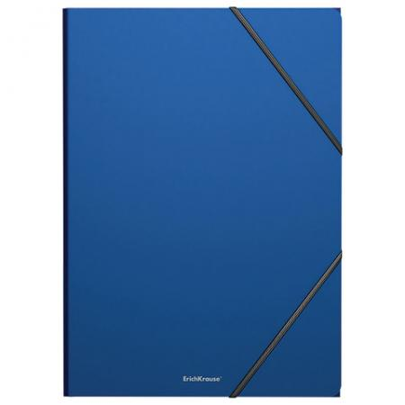 "цена на Папка на резинках ERICH KRAUSE ""Classic"", А4, до 300 листов, 400 мкм, синяя, 47190"