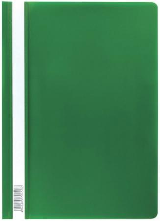 """цена на Скоросшиватель пластиковый ERICH KRAUSE """"Economy"""", А4, до 130 листов, 160 мкм, зеленый, 30659"""