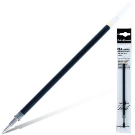 Стержень гелевый гелевая Erich Krause G-Base черный 0.4 мм гелевая ручка erich krause g base красный 0 5 мм 30937