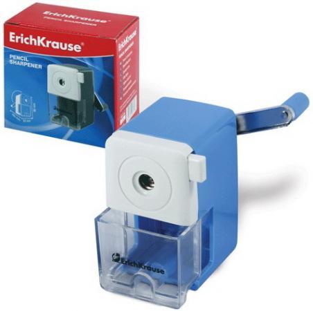 цены Точилка механическая ERICH KRAUSE, пластиковая, с контейнером, металлический механизм, 6798
