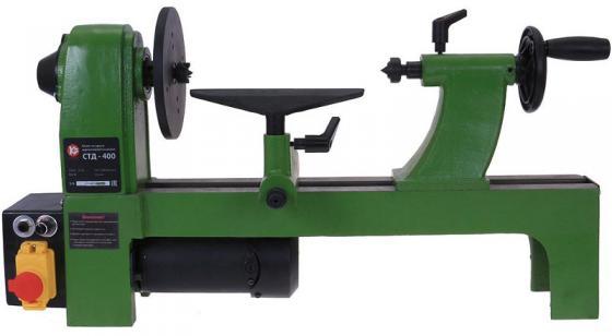 Станок токарный КАЛИБР СТД-400 400Вт 330мм станок токарный деревообрабатывающий калибр стд 400