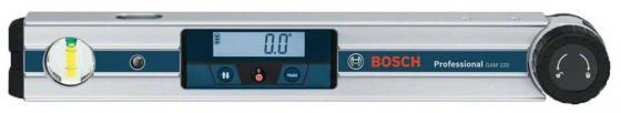 Угломер BOSCH GAM 220 MF Professional (0.601.076.600) Диапазон измерения 0–220° Точность ± 0,1° цифровой угломер bosch pam 220