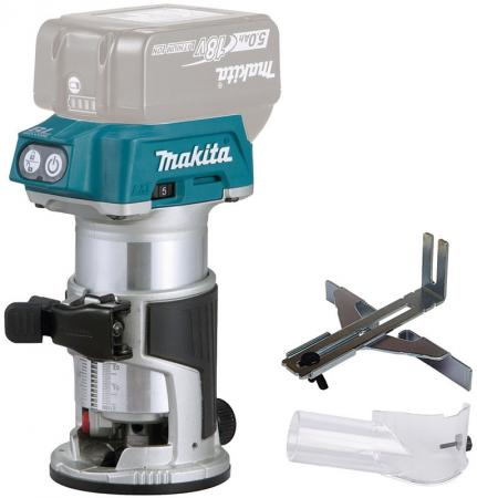 Фрезер MAKITA DRT50Z б\\щ, 18В, Li-Ion, 30000 об\\м, цанг6-8мм шлифмашина угл makita dga518zu ф125мм 18в li ion 3000 8500 м aws bluetooth anti rest