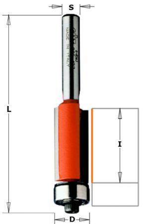 Фреза CMT 706.064.11 обгонная нижн. подш. монолитная S=6 D=6.35x25.4x63.5 все цены