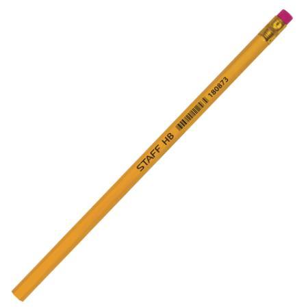 Карандаш графитовый STAFF 180873 185 мм чернографитный карандаш графитовый staff 181283 185 мм чернографитный