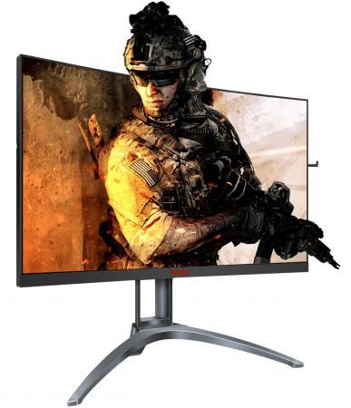 Фото - Монитор 27 AOC AG273QCX черный VA 2560x1440 400 cd/m^2 1 ms HDMI DisplayPort VGA Аудио USB монитор 27 hp omen x 27 черный tn 2560x1440 400 cd m^2 1 ms hdmi displayport аудио usb 6fn07aa