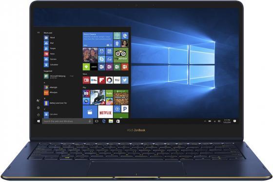 Ноутбук ASUS Zenbook Flip S UX370UA-C4201T 13.3 1920x1080 Intel Core i7-8550U 512 Gb 16Gb Intel UHD Graphics 620 синий Windows 10 Home 90NB0EN1-M10510 ноутбук asus zenbook 13 ux331ual eg066r 13 3 1920x1080 intel core i7 8550u 1024 gb 16gb intel uhd graphics 620 синий windows 10 professional 90nb0ht3 m03280