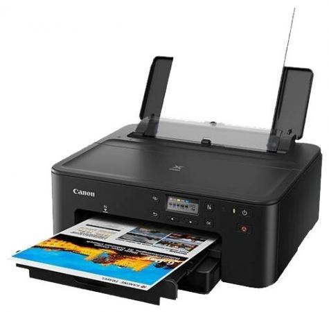 Принтер струйный Canon Pixma TS704 (3109C007) A4 Duplex WiFi USB RJ-45 черный принтер canon pixma g1410 цветное a4 8 8ppm 4800x1200 usb черный 2314c009