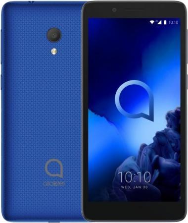 Смартфон Alcatel 1C синий 4.95 8 Гб Wi-Fi GPS Bluetooth смартфон alcatel a3 xl 9008d серый серебристый 6 8 гб lte wi fi gps 3g 9008d 2aalru1
