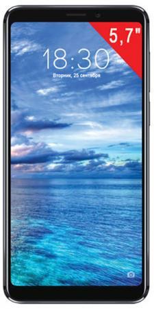 """Смартфон Meizu M813H 64GB BLACK черный 5.7"""" 64 Гб LTE Wi-Fi GPS 3G Bluetooth 4G meizu pro 6 64gb lte dual sim grey black"""