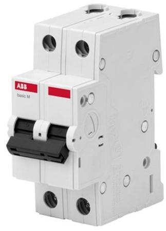 ABB 2CDS642041R0634 Авт. выкл. 2P, 63A, C, 4,5кА, BMS412C63 автомат abb bms412c63