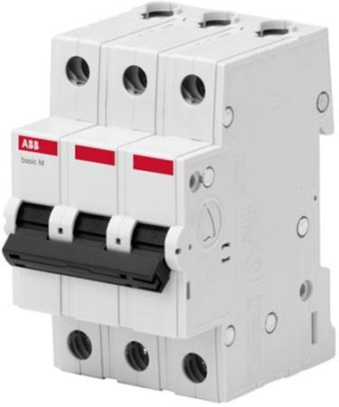 ABB 2CDS643041R0104 Авт. выкл. 3P, 10A, C, 4,5кА, BMS413C10 автомат abb bms413c10