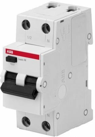 ABB 2CSR645041R1104 Выкл. авт. диф. тока, 1P+N, 10А, C, 4.5kA, 30мА, AC, BMR415C10 все цены