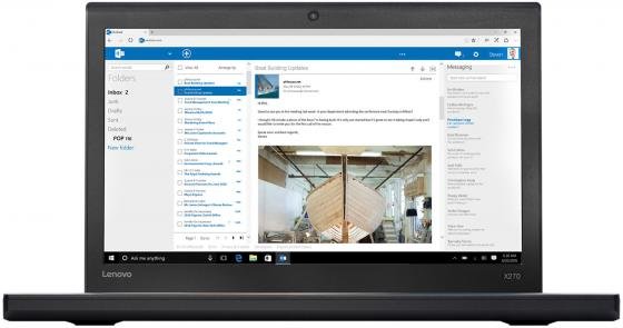 "Ноутбук Lenovo ThinkPad X270 12.5"" 1920x1080 Intel Core i3-6006U 256 Gb 8Gb Intel HD Graphics 520 черный Windows 10 Professional 20K5S5L500 стоимость"
