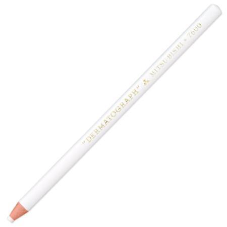 Карандаш цветной UNI 7600 WHITE 176 мм восковые 142625