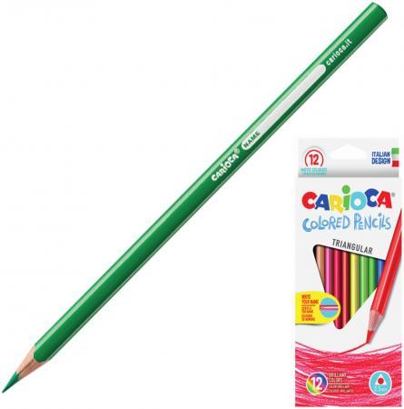 Набор цветных карандашей CARIOCA Triangular 12 шт 175 мм