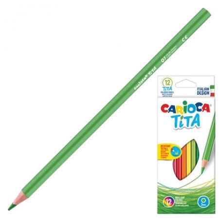 Набор цветных карандашей CARIOCA Tita 12 шт 174 мм