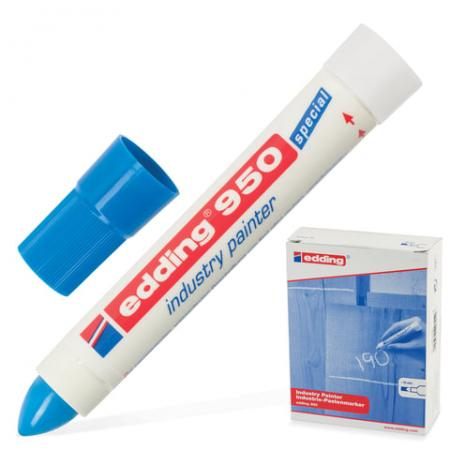 Маркер-паста Edding E-950/3 10 мм синий маркер edding e 950 1 10mm black 35722