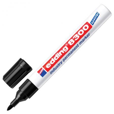 Маркер промышленный Edding E-8300/1 1,5-3 мм черный