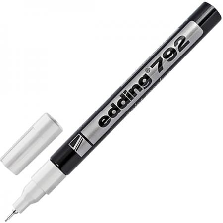 Маркер-краска лаковый Edding Маркер-краска лаковый 0.8 мм белый