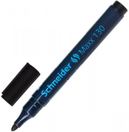Маркер перманентный SCHNEIDER Маркер перманентный 1-3 мм черный