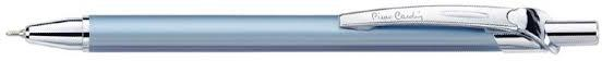 """Ручка подарочная шариковая PIERRE CARDIN """"Actuel"""", корпус голубой, алюминий, хром, синяя, PC0505BP"""