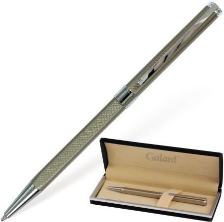 Шариковая ручка шариковая GALANT Stiletto Chrome синий 0.7 мм