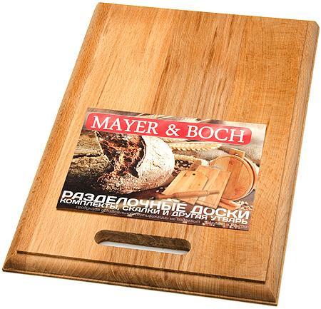 Доска разделочная Mayer&Boch MB 01-3 прямоугольная средняя цена