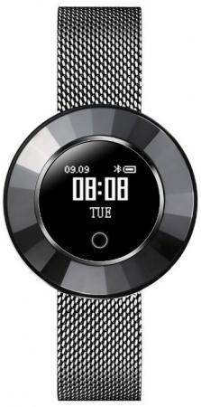 Смарт-часы Krez Tango 35мм 0.66 OLED черный (SW24) умные часы krez hero черный